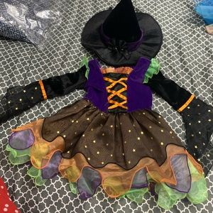 Intricate Witch Costume 12-18 months